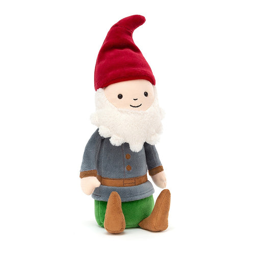 Jellycat Jolly Gnome Jim available from Indie Edinburgh