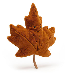 Jellycat Woodland Maple Leaf available from Indie Edinburgh