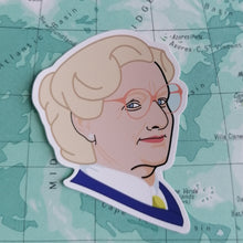 Load image into Gallery viewer, Luna Mcr Mrs Doubtfire Vinyl Sticker available from Indie Edinburgh