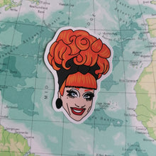 Load image into Gallery viewer, Bianca Del Rio Vinyl Sticker available from Indie Edinburgh