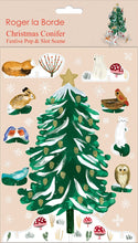 Load image into Gallery viewer, Roger La Borde Christmas Conifer Pop & Slot from Indie Edinburgh