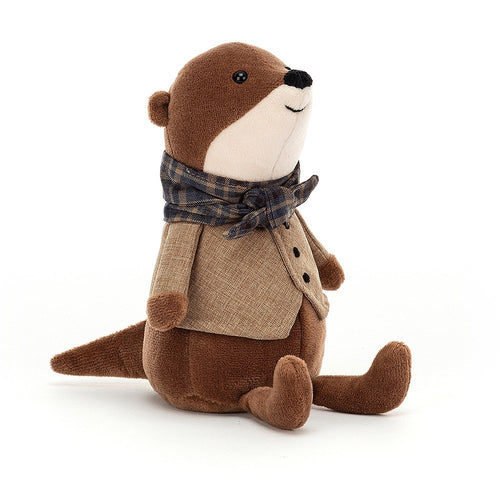 Jellycat Riverside Rambler Otter available from Indie Edinburgh