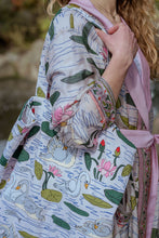 Load image into Gallery viewer, One Hundred Stars Swan Tote Bag available from Indie Edinburgh