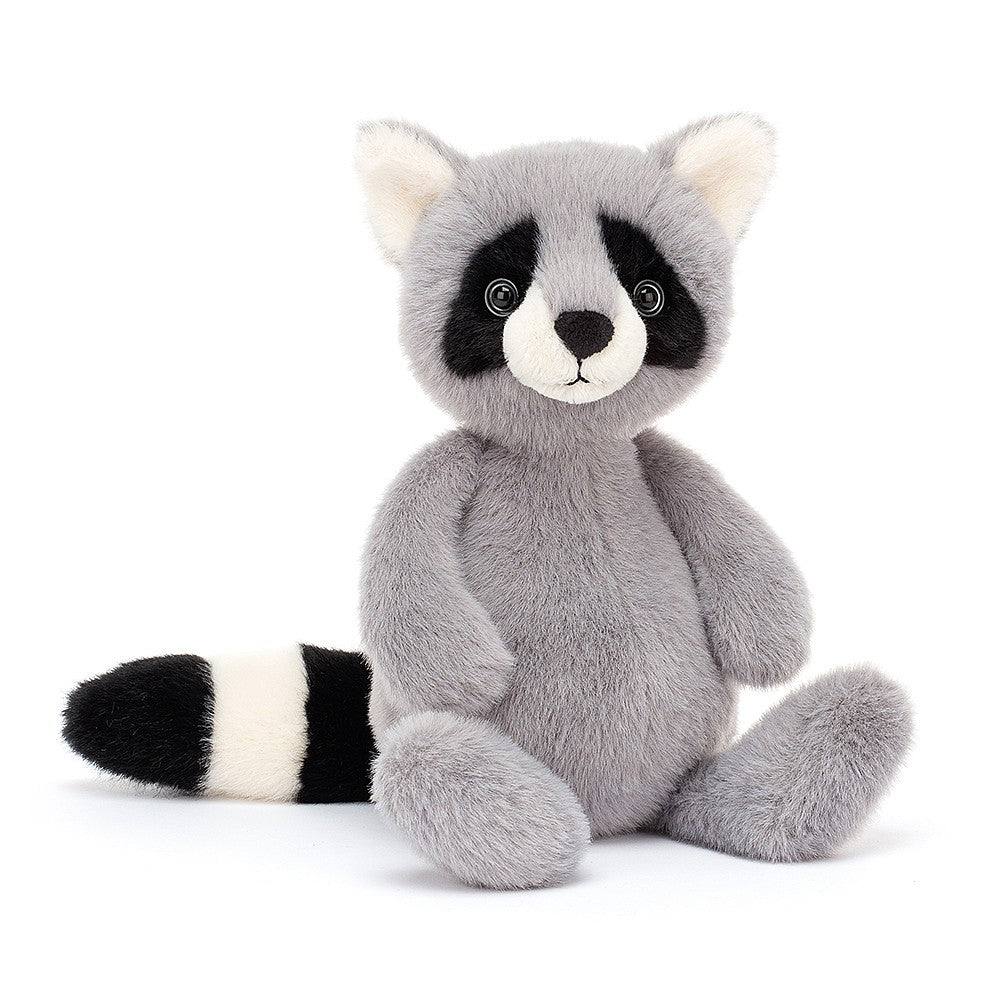 Jellycat Whispit Racoon available from Indie Edinburgh
