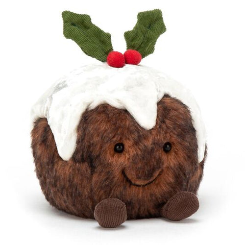 Jellycat Amusable Christmas Pudding available from Indie Edinburgh