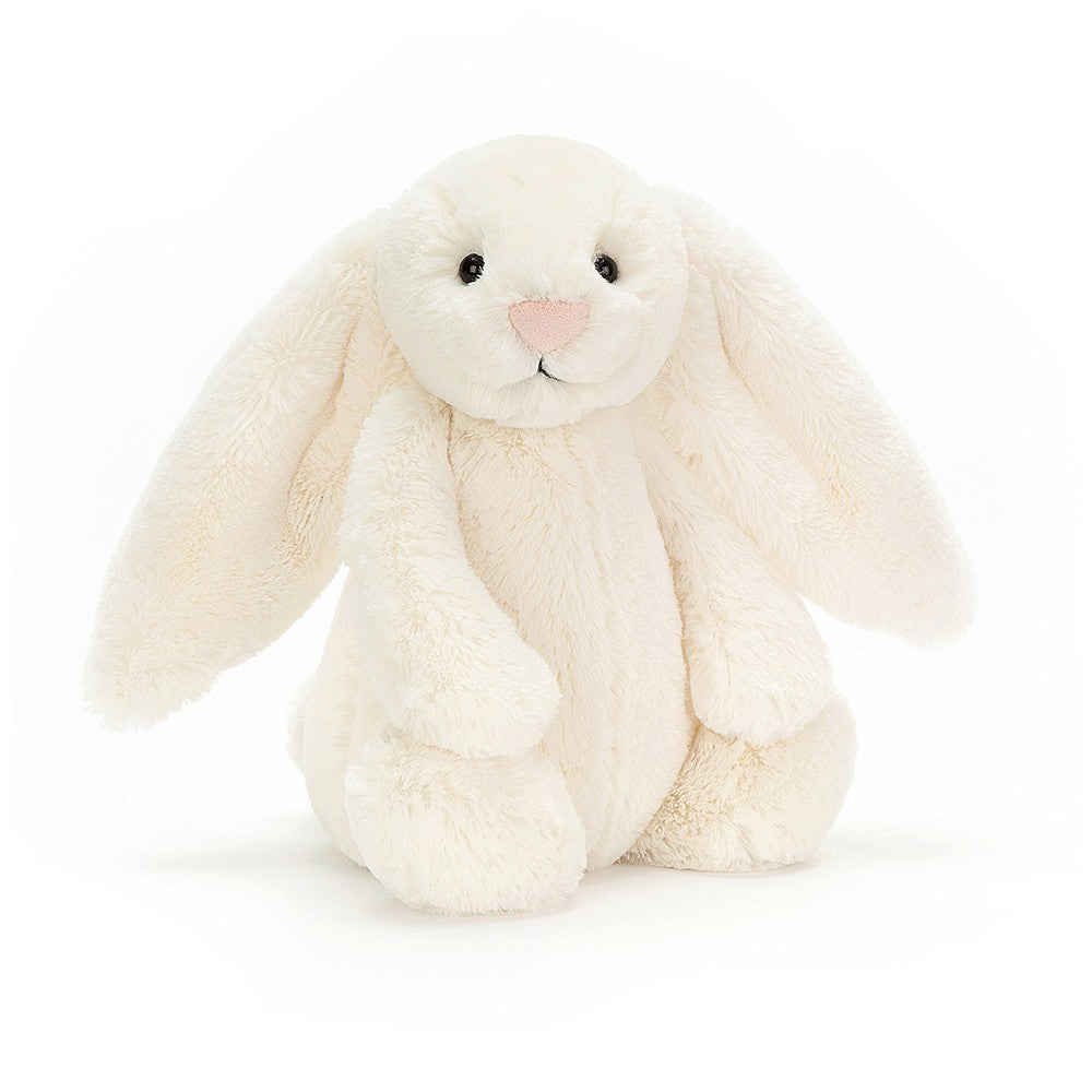 Jellycat Medium Bashful Bunny Cream available from Indie Edinburgh