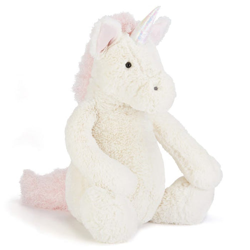 Jellycat Bashful Unicorn available from Indie Edinburgh