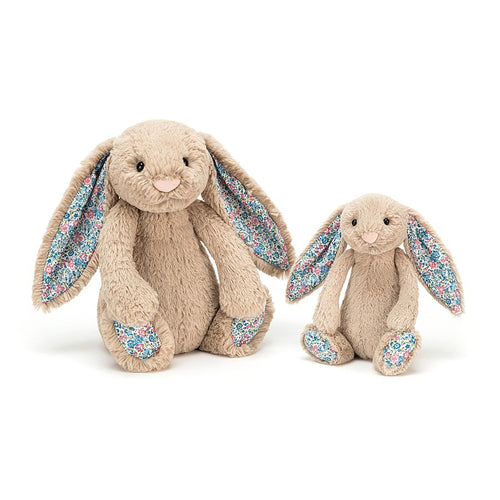 Jellycat Small Blossom Bunny Beige available from Indie Edinburgh