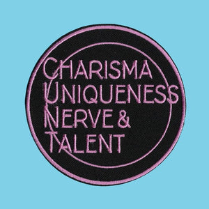 Charisma, Uniqueness, Nerve and Talent Patch from Indie Edinburgh