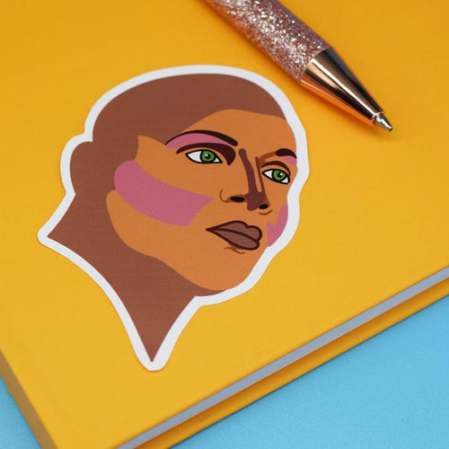Coco Montrese Vinyl Sticker available from Indie Edinburgh