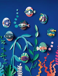 Studio Roof Marine Angelfish Wall Decor available from Indie Edinburgh