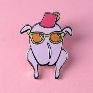 Friends Monica Turkey Enamel Pin available from Indie Edinburgh