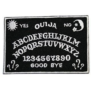Ouija Iron On Patch available from Indie Edinburgh