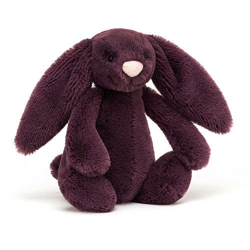 Jellycat Small Bashful Bunny Plum available from Indie Edinburgh