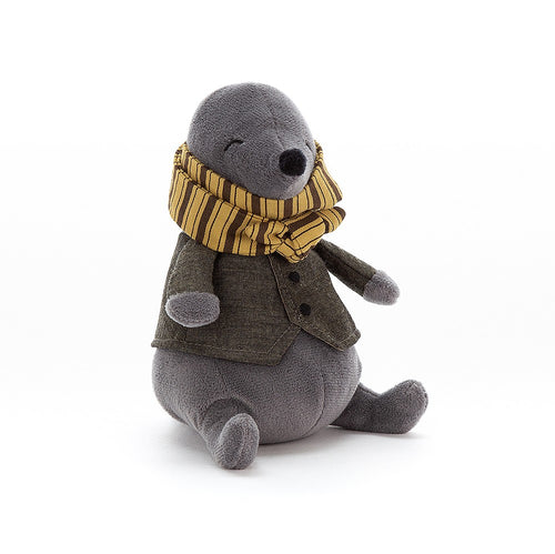 Jellycat Riverside Rambler Mole available from Indie Edinburgh