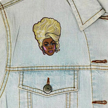 Load image into Gallery viewer, Luna Mcr Rupaul Iron On Patch available from Indie Edinburgh