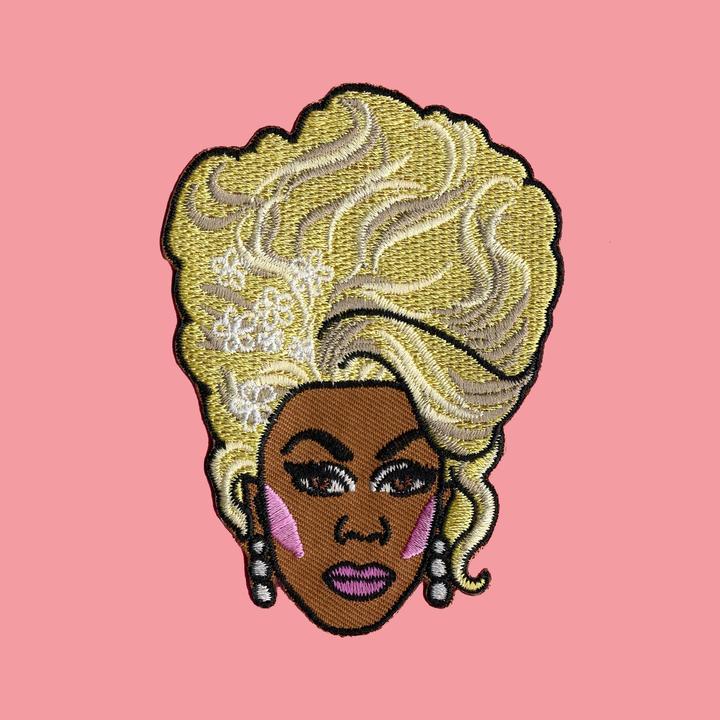 Luna Mcr Rupaul Iron On Patch available from Indie Edinburgh