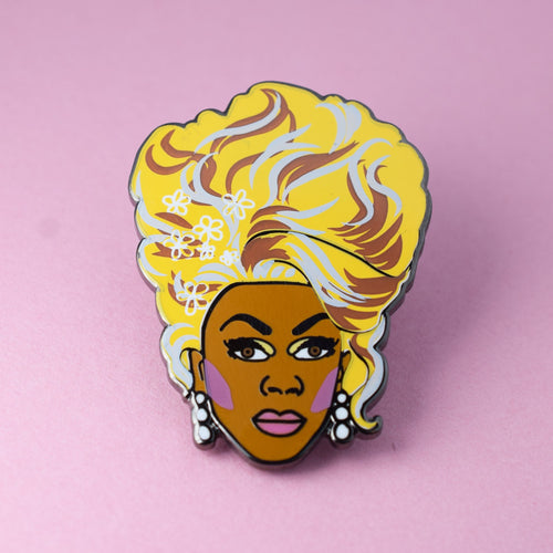 Rupaul Enamel Pin from Indie Edinburgh