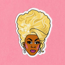 Load image into Gallery viewer, Luna Mcr Rupaul Vinyl Sticker available from Indie Edinburgh