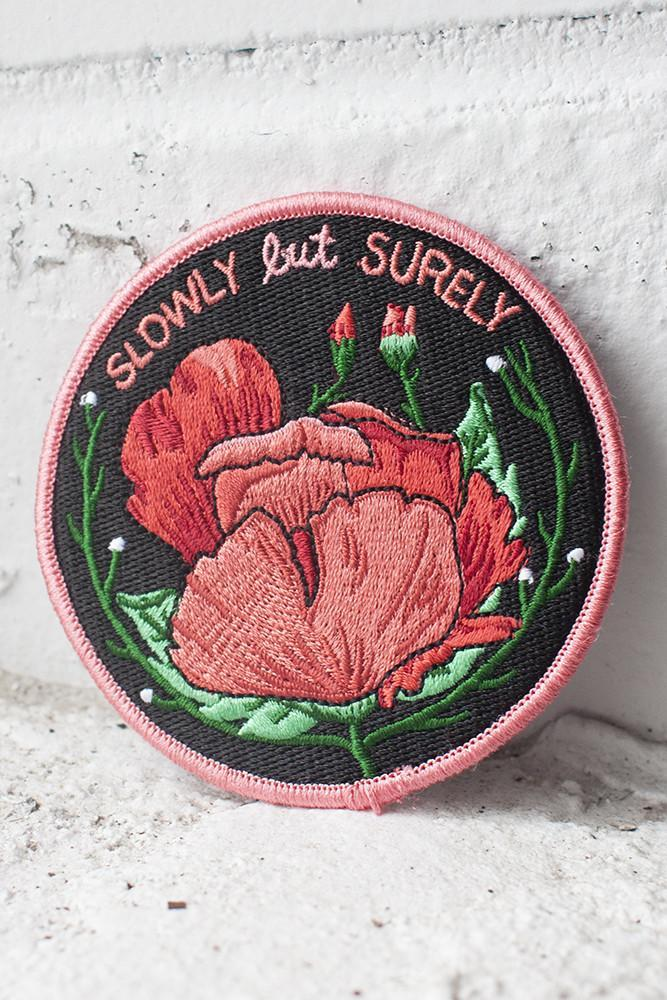 Stay Home Club Slowly But Surely Patch available from Indie Edinburgh