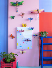 Load image into Gallery viewer, Studio Roof Blue Copper Butterfly Wall Decor from Indie Edinburgh
