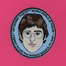 Load image into Gallery viewer, Luna Mcr Louis Theroux Iron On Patch available from Indie Edinburgh