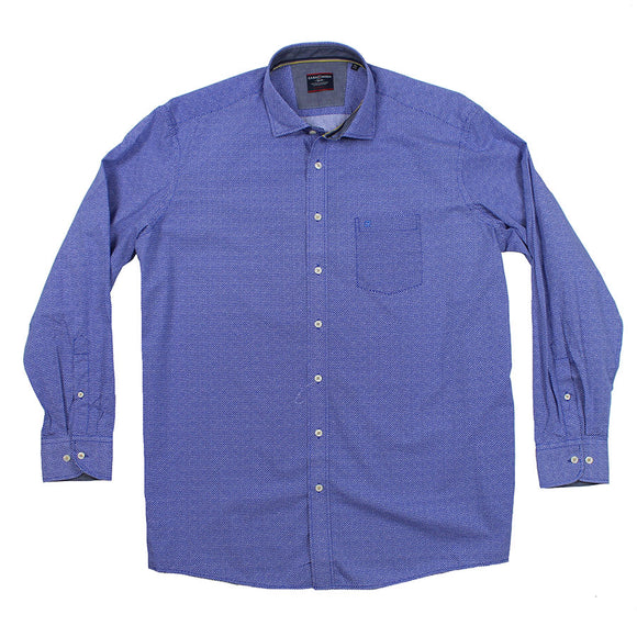 Dot Print LS Shirt - Casa Moda - Mens Big Deals