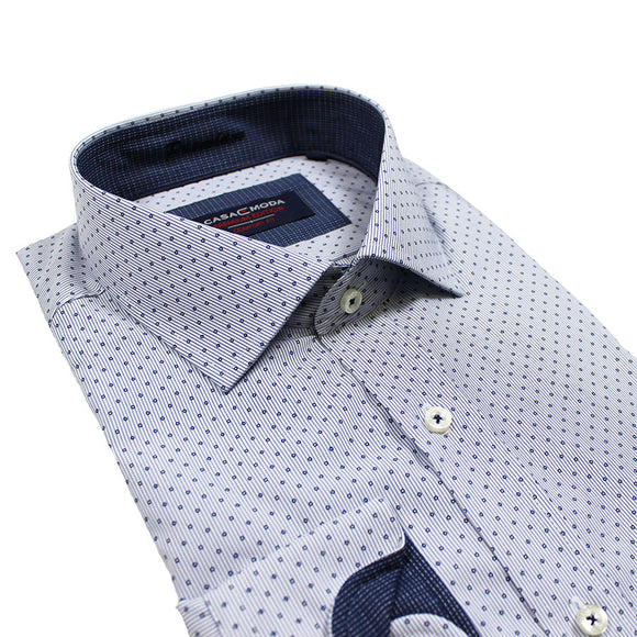 Non Iron Cotton Shirt - Casa Moda - Mens Big Deals