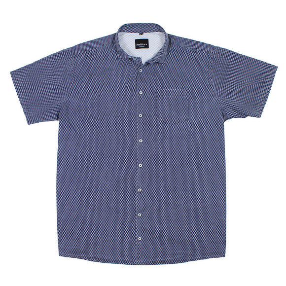 Print Cotton Shirt - North 56 - Mens Big Deals