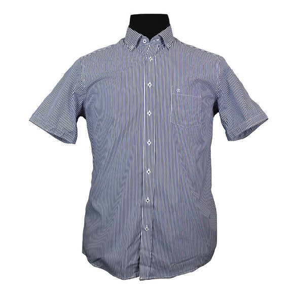 Pure Cotton Bengal Stripe Shirt - Casa Moda - Mens Big Deals