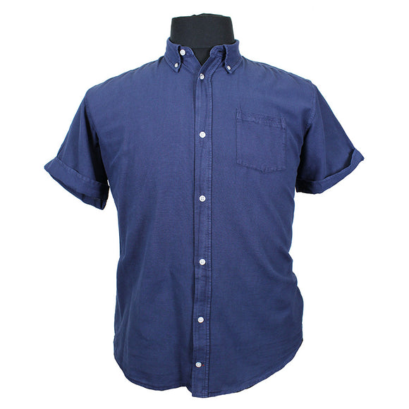 Pure Cotton Linen Look Fashion Shirt - North 56 - Mens Big Deals