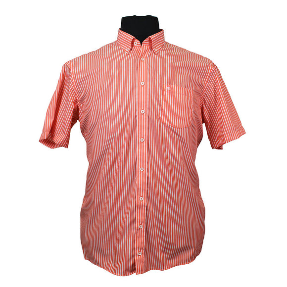 Cotton Broad Stripe Shirt - Casa Moda - Mens Big Deals