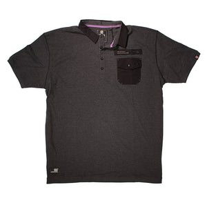 Rodney 1 Pocket Cotton Polo - D555 - Mens Big Deals
