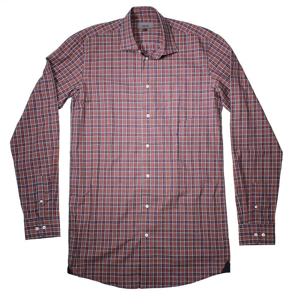 Classic X Tall cotton LS Shirt - Greyes - Mens Big Deals