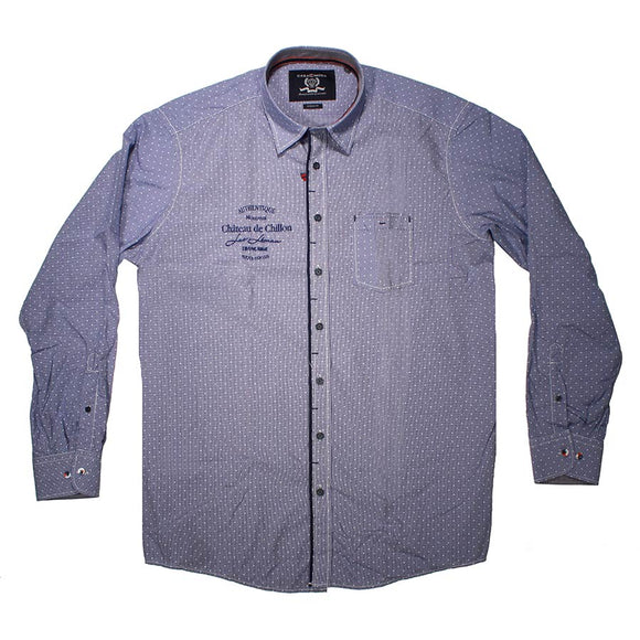 Cotton LS Shirt - Casa Moda - Mens Big Deals
