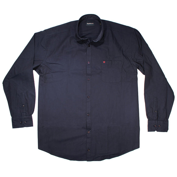 Cotton Oxford LS Shirt - North 56 - Mens Big Deals