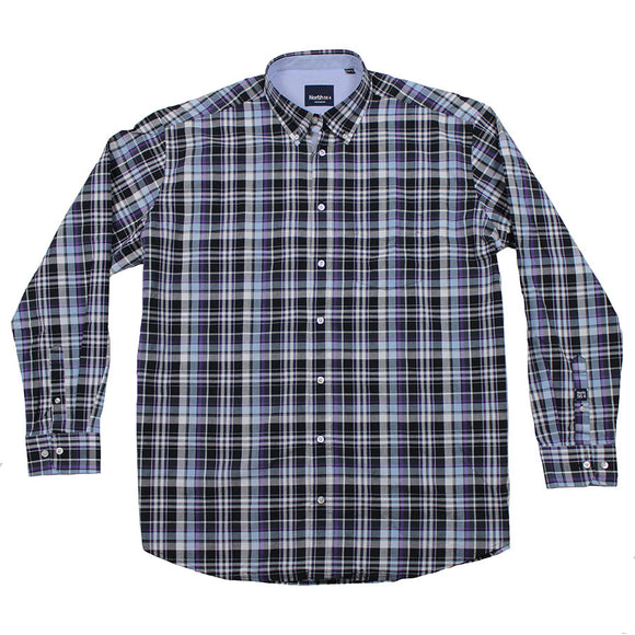 Printed LS Shirt - North 56 - Mens Big Deals