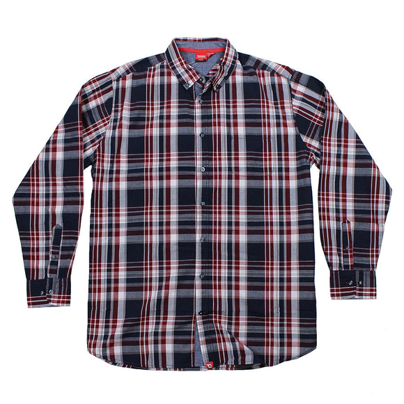 Cotton Check Shirt - D555 - Mens Big Deals