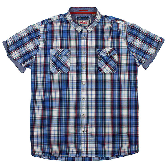 Cotton Twin PKT Large Check - D555 - Mens Big Deals