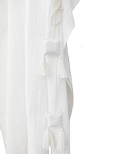 Load image into Gallery viewer, Balance kaftan bamboo silk / off white / free size