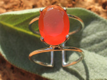 Load image into Gallery viewer, Healing ring silver 925 (carnelian, amethyst, red/aqua/green chalcedony, citrine, lapis)