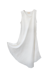 Simplicity dress bamboo silk / off white / S, M