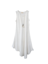 Load image into Gallery viewer, Simplicity dress bamboo silk / off white / S, M