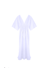 Load image into Gallery viewer, Butterfly dress cotton/ off white / S, M.