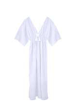 Load image into Gallery viewer, Butterfly dress bamboo silk / off white / S, M.