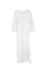 Load image into Gallery viewer, Wisdom long tunic Cotton / off white / S-M