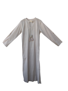 Wisdom long tunic Cotton / sand / S-M