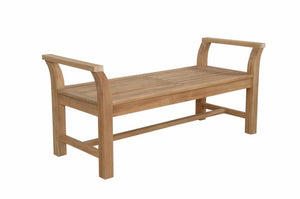 Sakura 2-Seater Backless Bench