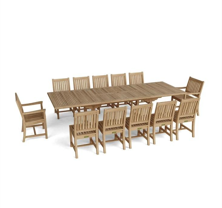 Valencia Rialto 13-pc Dining Table Set