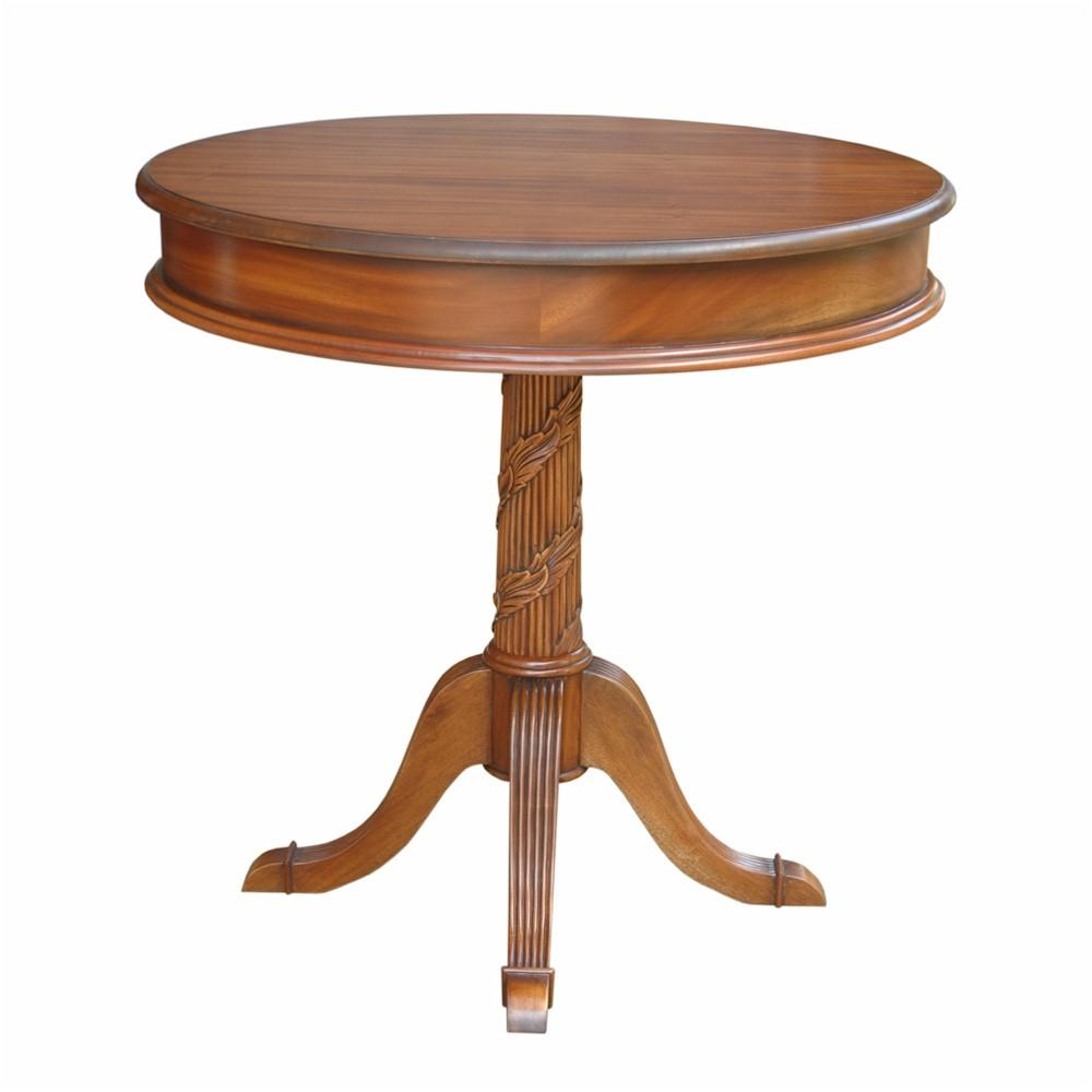 Victorian Pedestal Entry Table